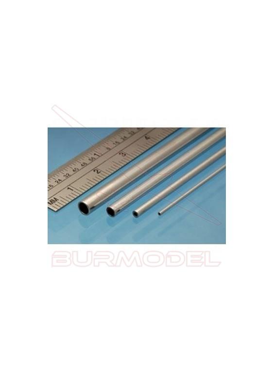 Tubo de aluminio 4.00 x 0.45 mm (3 unid.)