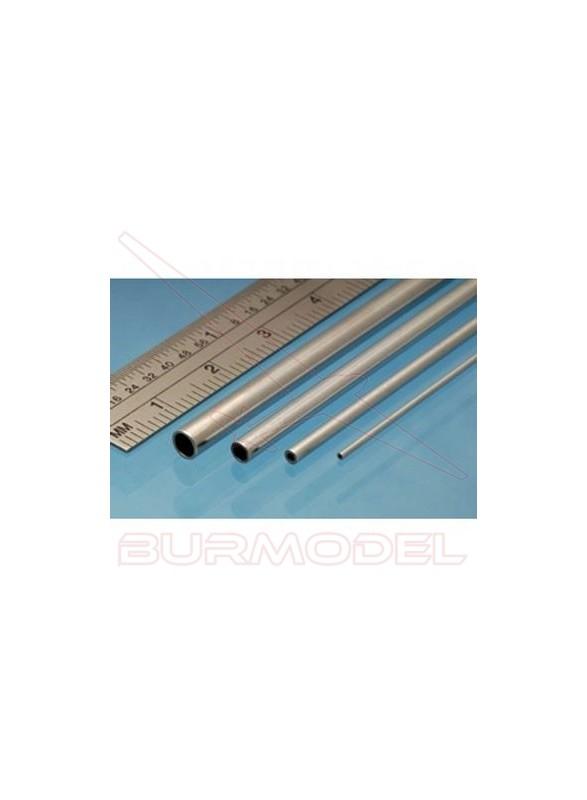 Tubo de aluminio 5.00 x 0.45 mm (2 unid.)