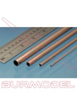 Tubo de cobre 3.00 x 0.45 mm (4 unidades)