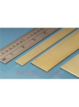 Pasamanos de latón 6.00x0.60 mm (4 unid.)