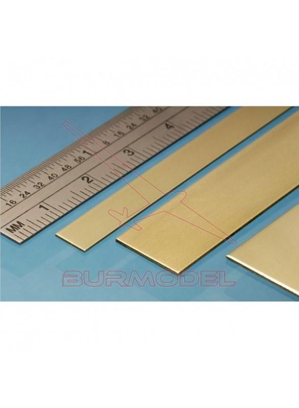 Pasamanos de latón 25.00x1.60 mm (1 unid.)