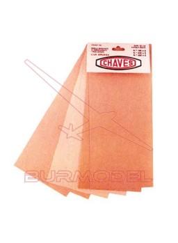 Jgo lijas para madera grano 180/240/320