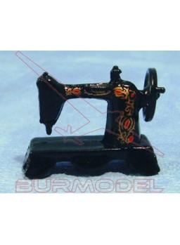 Máquina de coser negra