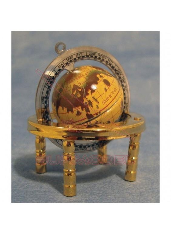 Globo bronce