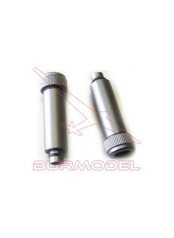 Cuerpo amortiguador aluminio trasero Hyper 7