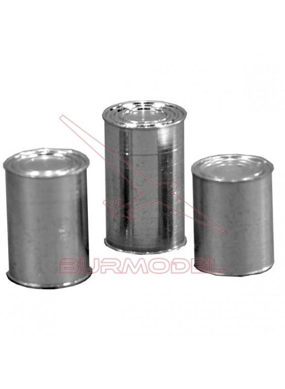 Tres latas anónimas