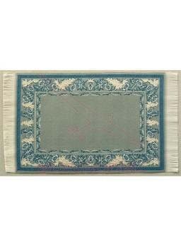 Alfombra tonos azules y ocres para casitas.10*16 c