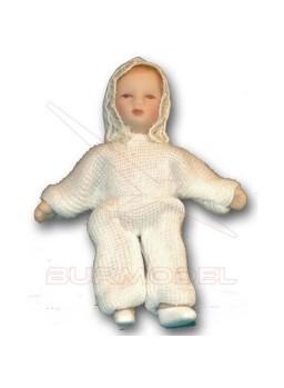 Bebe Porcelana Vestido Bautizo (niño)