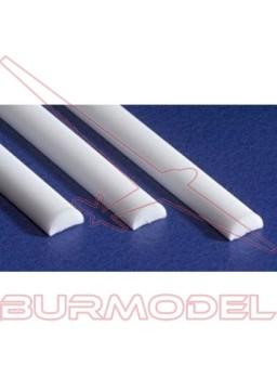 Media caña 2.50 X 350 mm ( 3 pzas.)