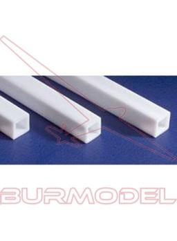 Tubo cuadrado 4.8 x 350 mm (3 pzas.)