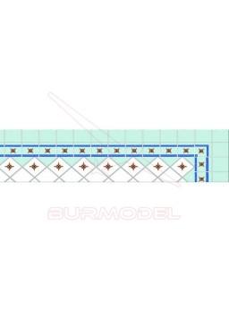 Decoración alta calidad para suelo de casitas