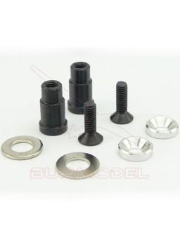 Casquillos de aluminio salvaservos H8