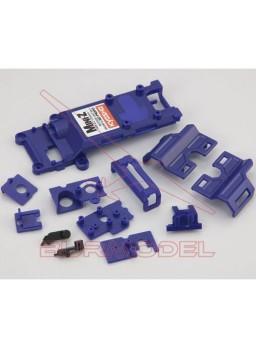 Chasis superior y piezas MR02