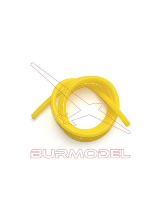 Silicona amarilla 1 m (rollo)