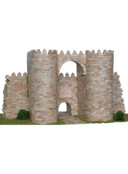 Puerta del Alcázar, muralla de Ávila