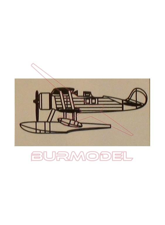 Maqueta avión Mini Craft F-5G 1/350