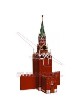 Maqueta papel Torre de San Nicolás (Moscú)