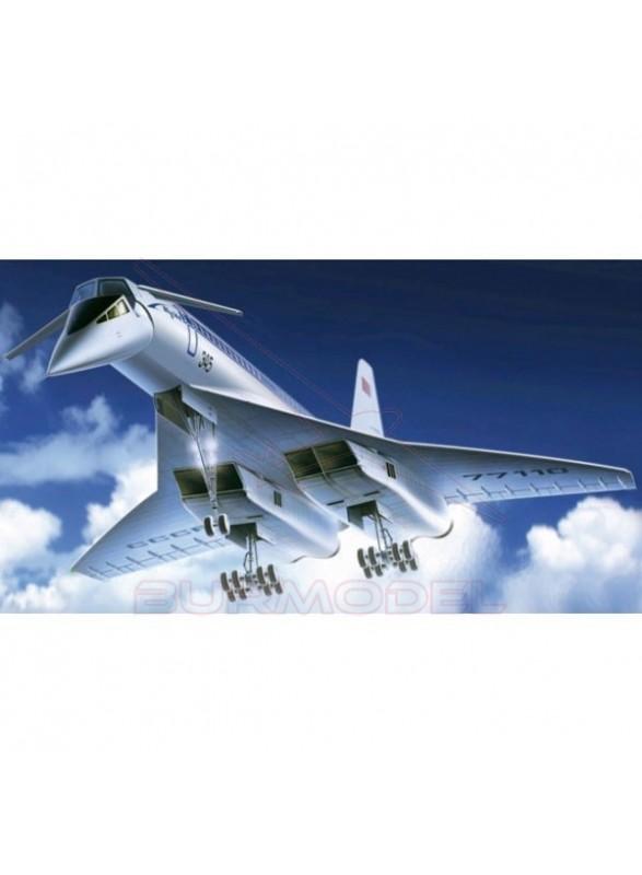Maqueta avión Supersonic Tupolev-144