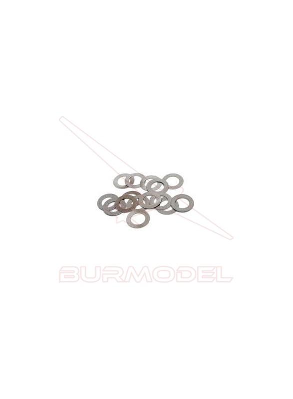 Arandela ajuste de campana 3*4. 9*0.3 mm (10 und)
