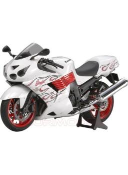 Maqueta moto Kawasaki Ninja ZX14 1:12
