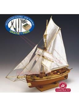Barco Gjoa para montar. Escala 1/64