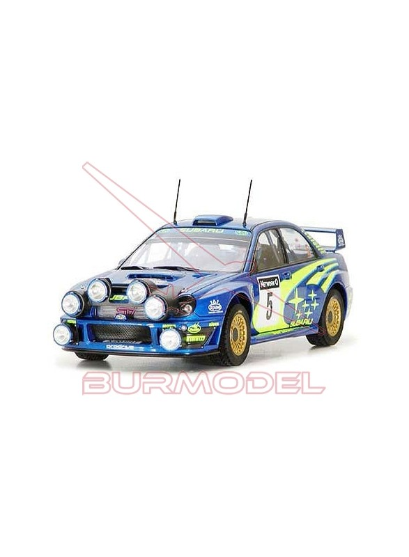 Maqueta coche Subaru Impreza WRC´01 (Rac Rally)
