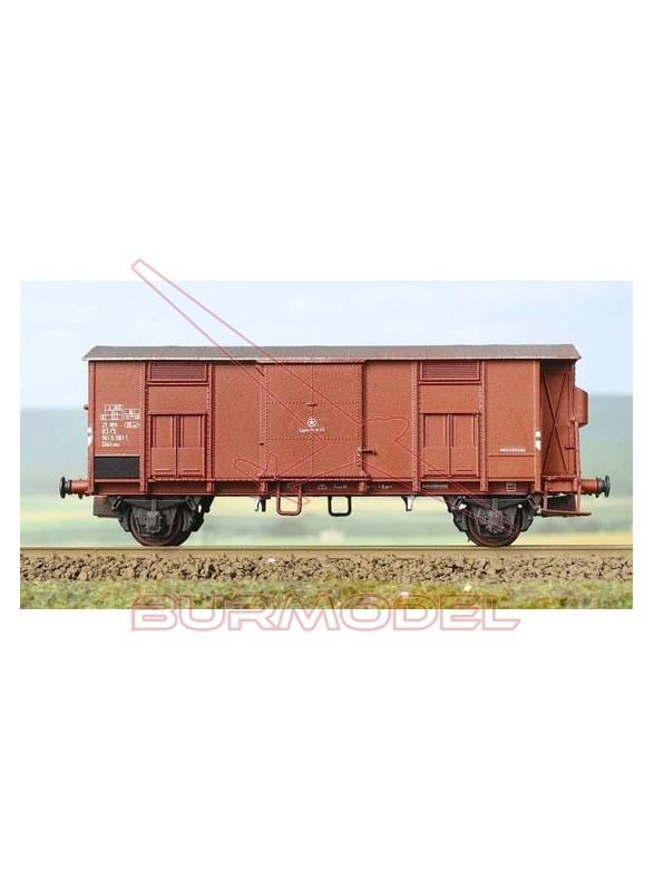Vagón de mercancías cubierto F 1:87