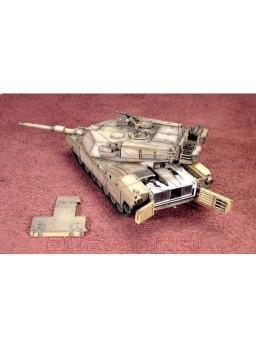 Maqueta tanque Abrams M1 A1 con piezas en resina