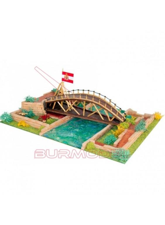 Kit de construcción Puente de Leonardo da Vinci