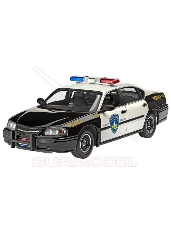 Maqueta montar Chevrolet Impala´05 Policia 1/25