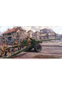 Maqueta Russian 100mm anti-tank gun m1944 (bs-3)
