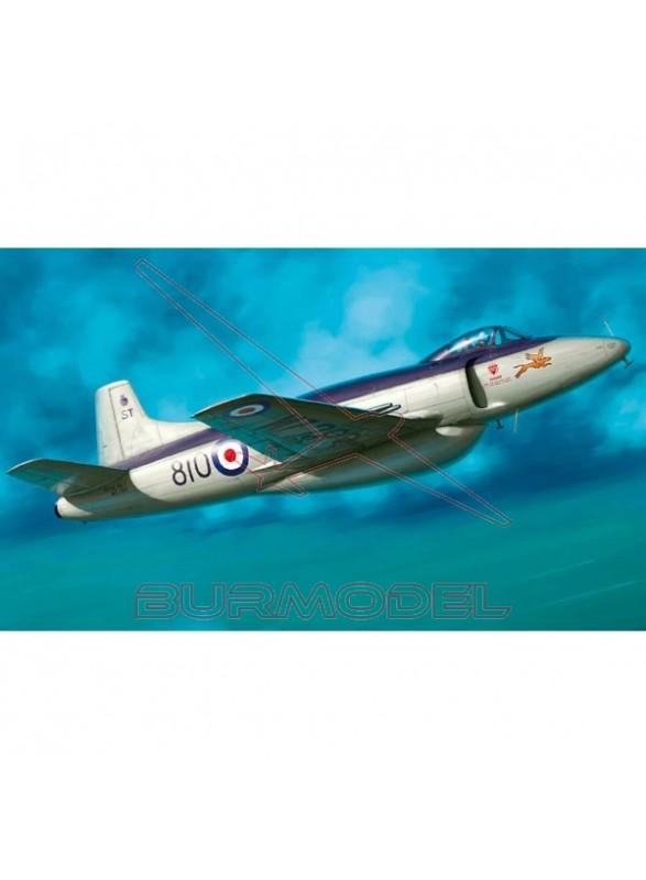 Maqueta avión Supermarine Attacker FB.2 1:48