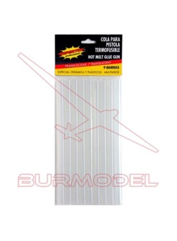 Barritas para pistola termofusible 9 und