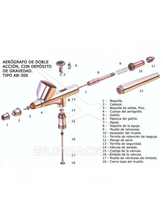 Obturador AB-300 0,4mm.