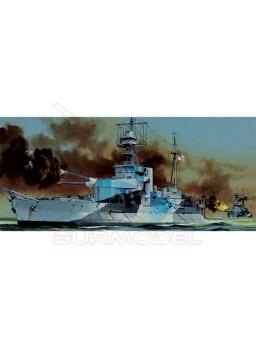 Maqueta montar HMS Roberts Monitor. Escala 1/350