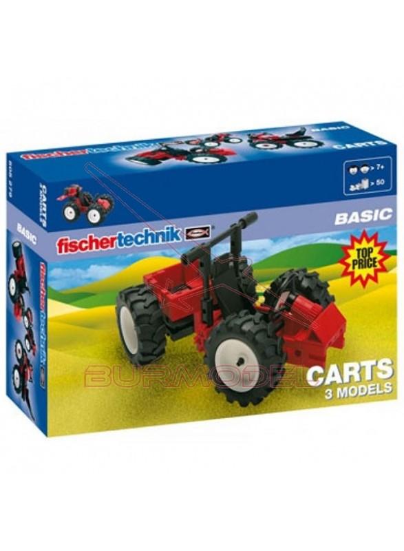 Construcción coches. Para montar hasta 3 modelos.