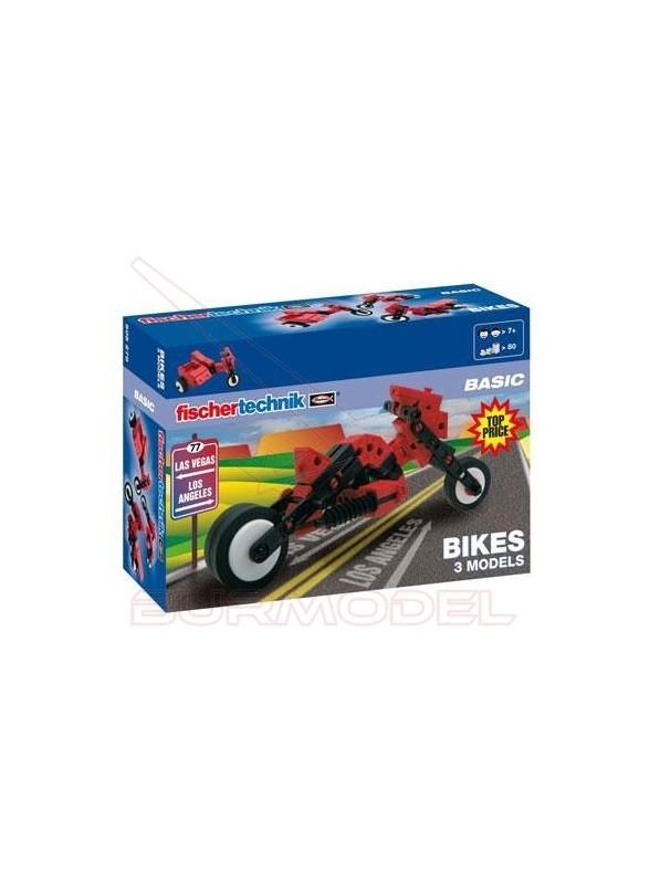 Construcción 3x1 motocicletas. Colección basic