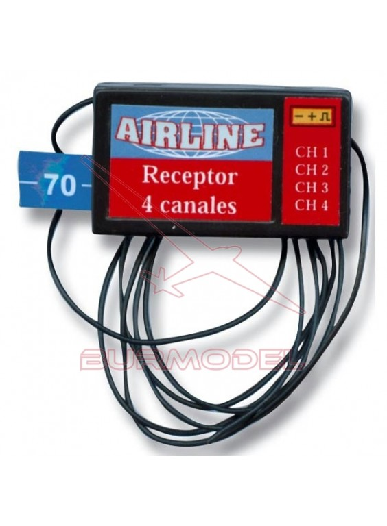 Receptor 35 FM 4 canales