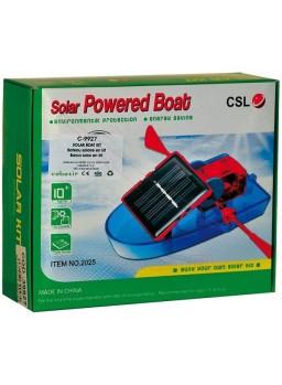 Barca solar en kit. Fácil montaje