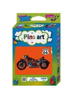 Moto para montar. Pins Art
