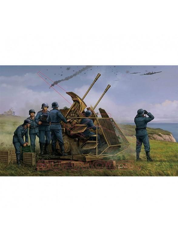 Maqueta German 37mm Flak 43 Zwilling 1/35