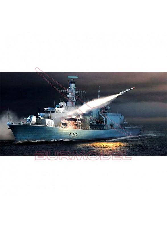 HMS Type 23 Frigate Monmounth(F235) 1/350