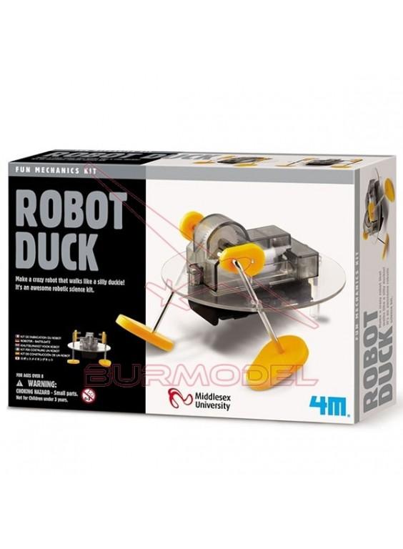 Kit de construcción de un robot. Duck