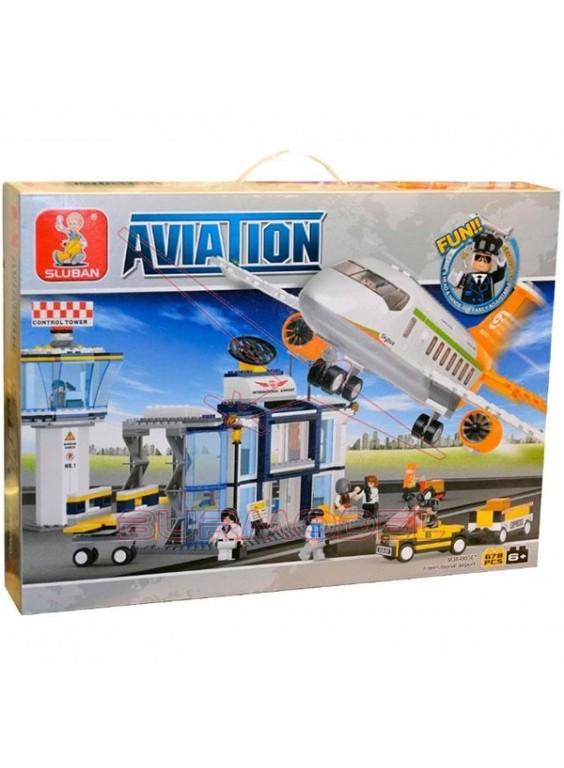 Kit infantil para montar aeropuerto