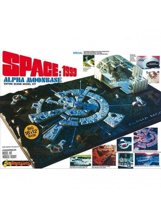Maqueta Space 1999 Moon Base 1/3200