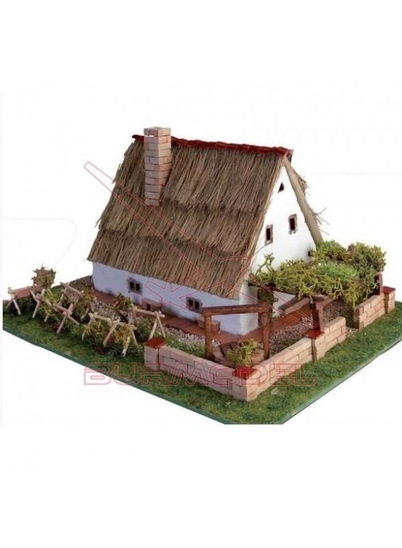 Construcción en cerámica Barraca Valenciana