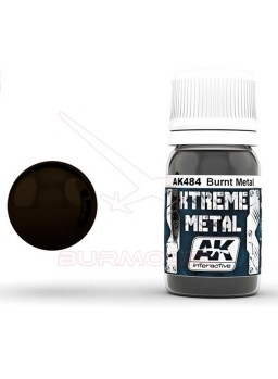 Burnt metal de Xtreme metal. Bote de 30ml