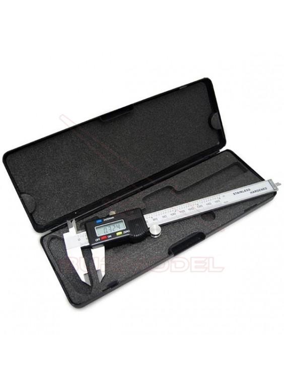 Calibre digital con estuche 0-150mm