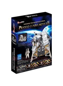 Puzzle 3 dimensiones Módulo Lunar Apollo