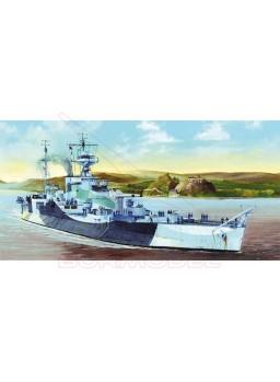 Maqueta HMS Abercrombie Monitor. Escala 1:350